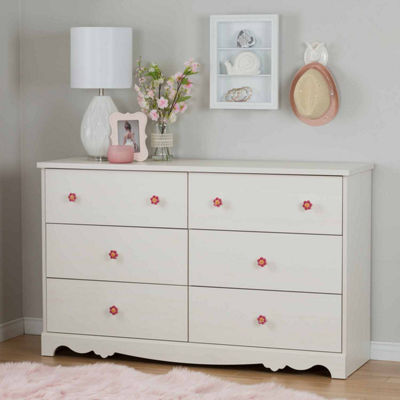 Lily Rose 6-Drawer Dresser