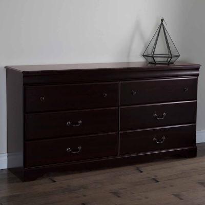 Vintage 6-Drawer Dresser