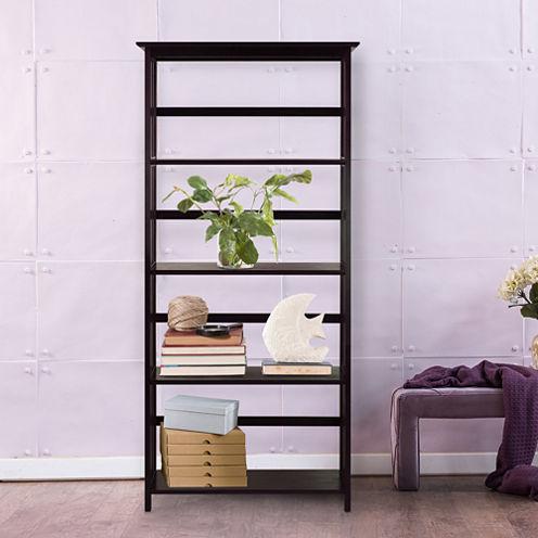 Mission 5-Tier Bookcase
