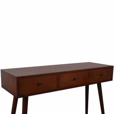 Decor Therapy Melody 3-Drawer Console Table