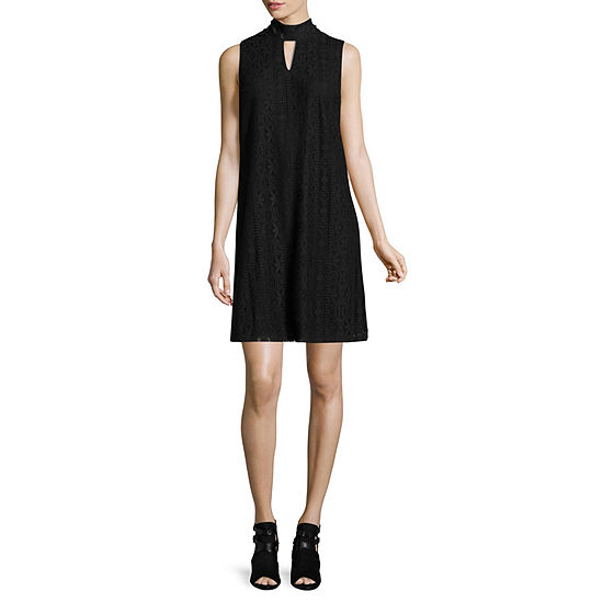 Libby Edelman Sleeveless Crochet Dress