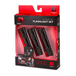 Smart Gear™ 3 Pack LED Flashlight Set with Bottle Opener
