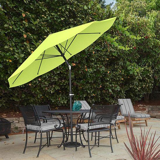 Pure Garden 10 ft. Aluminum Patio Umbrella with Auto Tilt