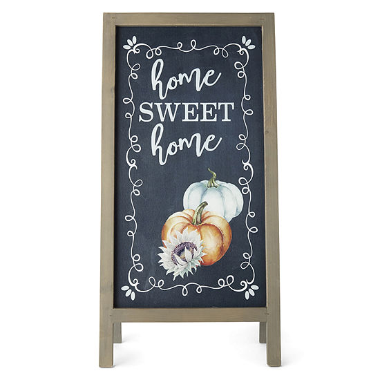 JCPenney Home Home Sweet Home Porch Easel Yard Art