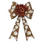 JCPenney Home Led Floral Bow Yard Stake