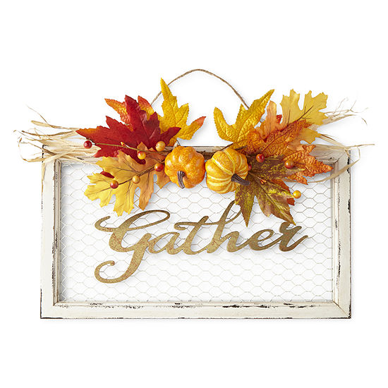 JCPenney Home Gather Chicken Wire Wall Sign