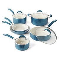 Deals on Cooks Speckle 10-pc. Cookware Set