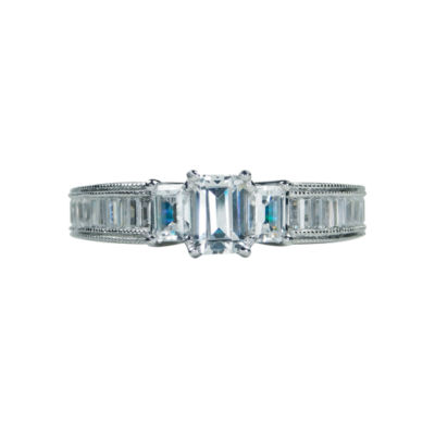 Modern Bride® Signature 1 1/2 CT. T.W. Diamond 14K White Gold Engagement Ring