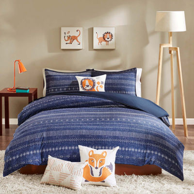 INK+IVY Kids Oliver Duvet Cover Set