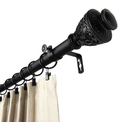 "Rod Desyne Veda 1"" Adjustable Curtain Rod"