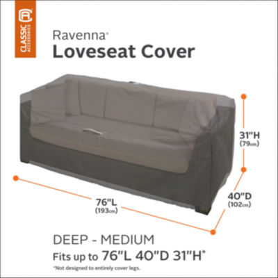 Classic Accessories® Ravenna Medium Deep Sofa Loveseat Cover