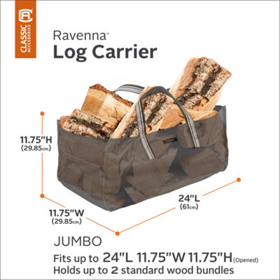 Classic Accessories® Ravenna Jumbo Log Carrier