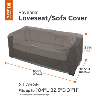Ravenna Extra Large Sofa Loveseat Cover