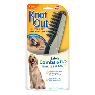 As Seen on TV Knot Out™ Electric Pet Grooming Comb