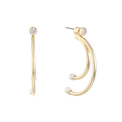 Monet Jewelry White Earring Jackets