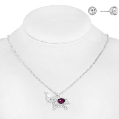 Monet Jewelry Womens 2-pack Purple Jewelry Set