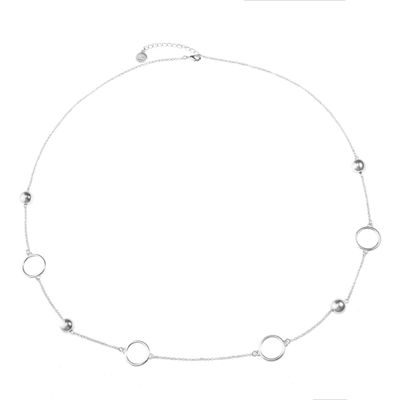 Liz Claiborne Womens Round Strand Necklace