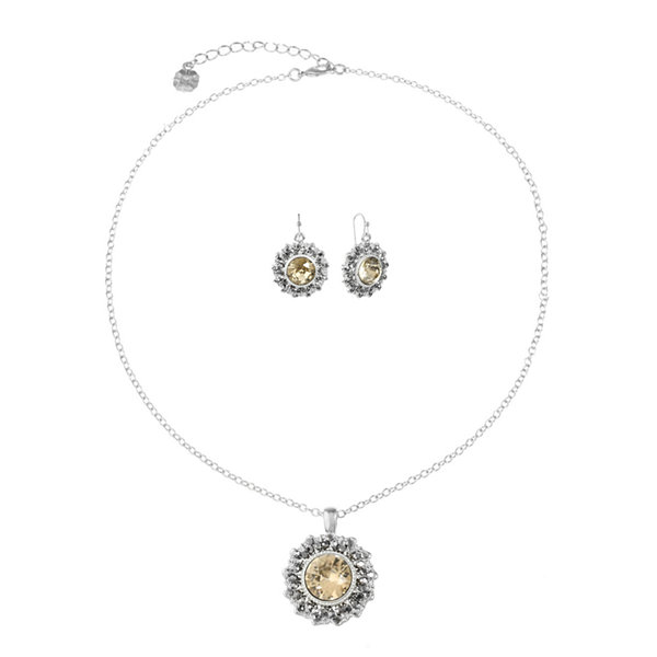 Jcp Womens 2-pc. Necklace Set