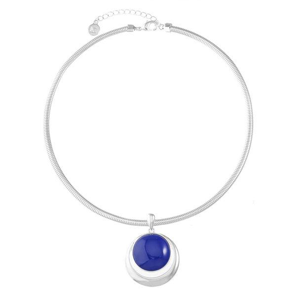 Liz Claiborne Liz Claiborne Womens Blue Pendant Necklace 07ty0eOi
