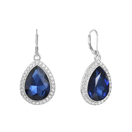 Monet Jewelry 1 Pair Blue Drop Earrings