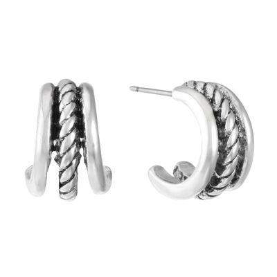 Monet Jewelry 15mm Hoop Earrings