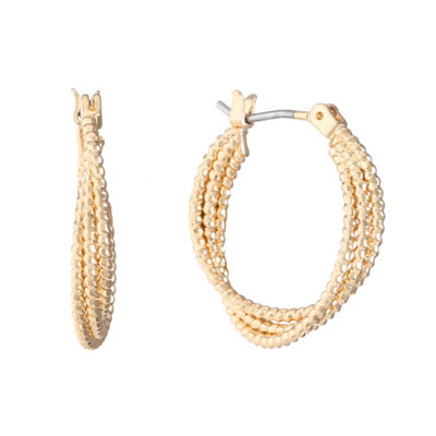 Monet Jewelry 22mm Hoop Earrings