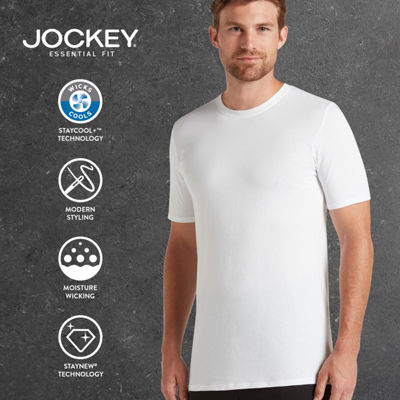 Jockey® Staycool+™ 3-pk. Crew Neck T-Shirt + Bonus T-Shirt