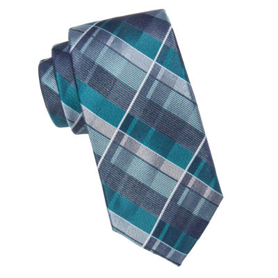 Collection by Michael Strahan Plaid Tie-XL