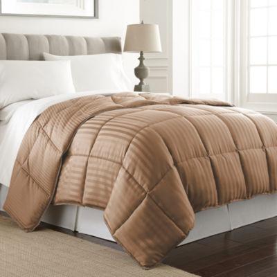 Pacific Coast Textiles Dobby Down Stripes Midweight Alternative Comforter