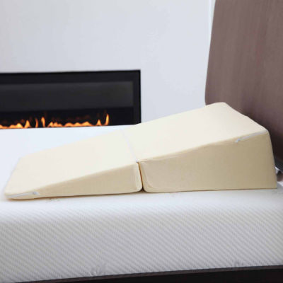 Cambridge Home Folding Wedge Memory Foam Pillow Wedge Pillow