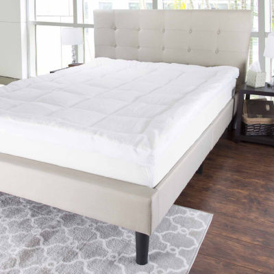 Cambridge Home Reversible Down Alternative Topper with Sherpa