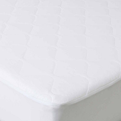 Cambridge Home Down Alternative Cotton Mattress Pad With Fitted Skirt