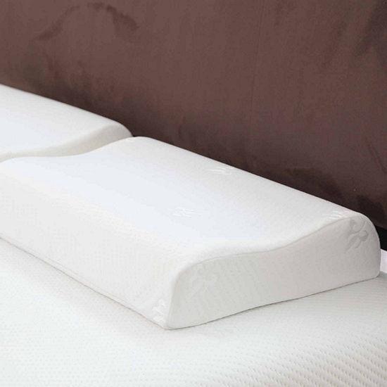 Cambridge Home Comfort Gel Memory Foam Pillow Contour Pillow