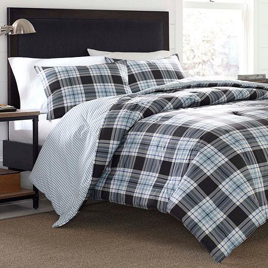 Eddie Bauer® Lewis Plaid Comforter- Sham Set