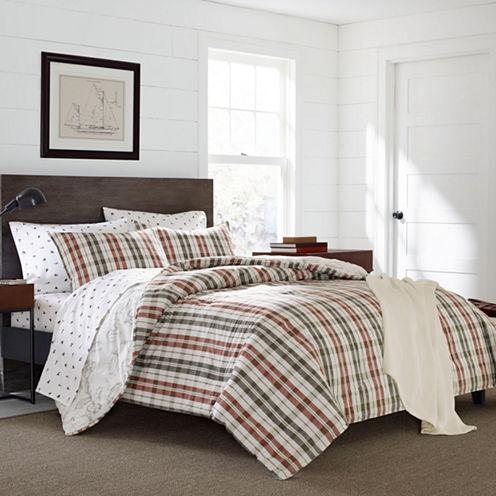 Eddie Bauer® Point Permit Plaid Comforter - ShamSet