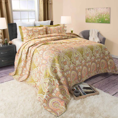 Cambridge Home 3-pc. Quilt Set