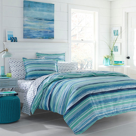 Poppy & Fritz Alex Bedding Collection Stripes Duvet Cover Set