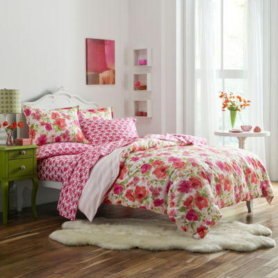 Poppy & Fritz Buffy Bedding Collection Floral Duvet Cover Set