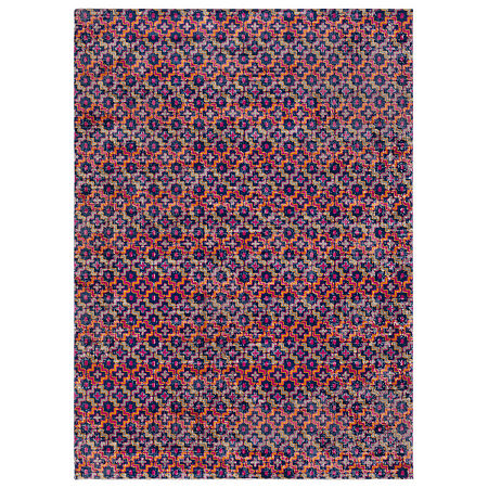 Decor 140 Glenmore Rectangular Indoor Rugs, One Size , Orange