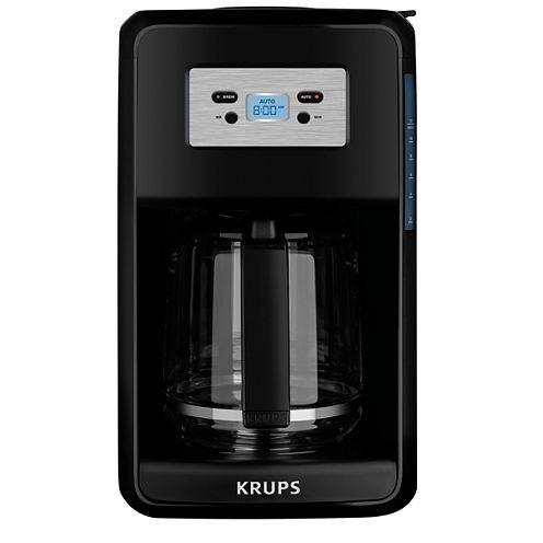 Krups® Savoy, EC311050, Programmable Filter Coffee Machine, Black