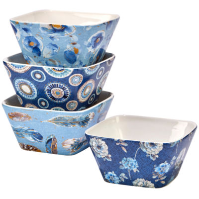 Certified International Indigold 4-pc. Ice Cream Bowl