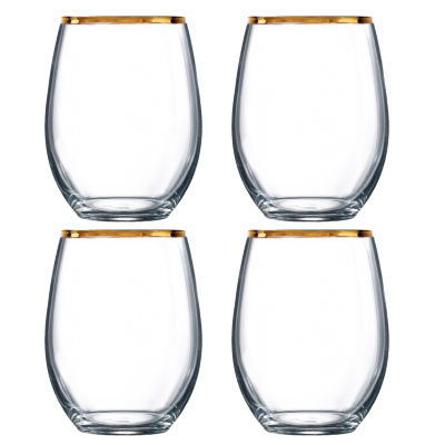 Arc International 4-pc. Stemless Wine Glass