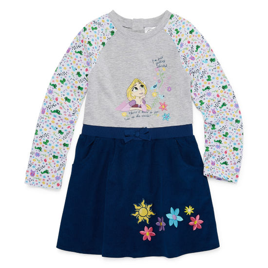 Disney Tangled A-Line Dress - Big Kid