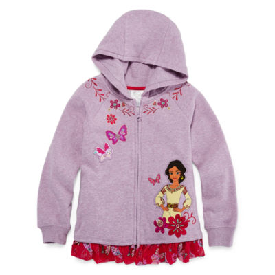 Disney Elena of Avalor Fleece Jacket-Big Kid Girls