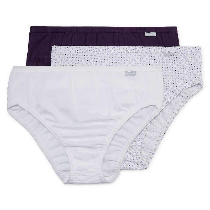 Jockey Plus Elance Queen 3 Pair High Cut Panty 1485 plus size,  plus size fashion plus size appare