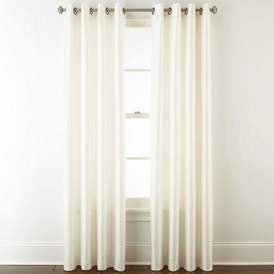 JCPenney Home Westfield Room Darkening Grommet-Top Curtain Panel