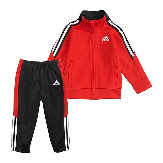 adidas Little Boys 2-pc. Track Suit