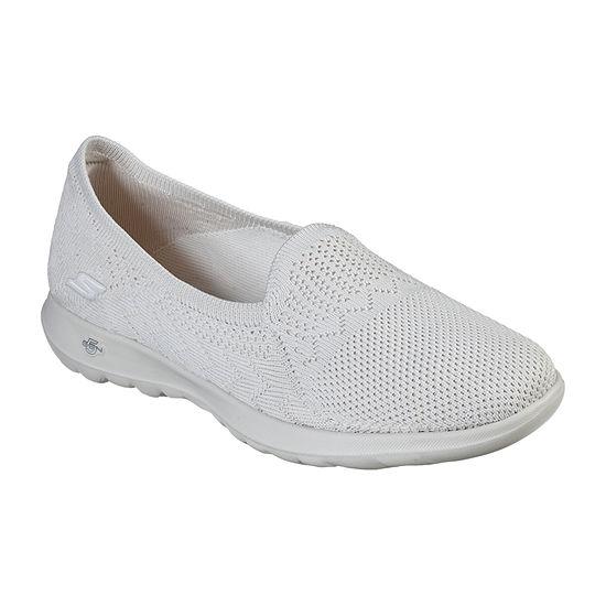 Skechers Go Walk Lite Womens Slip-on Walking Shoes