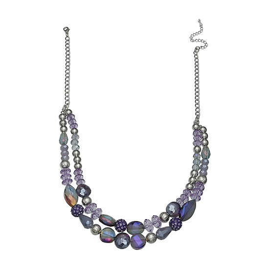 Mixit 2-Row Beaded Necklace