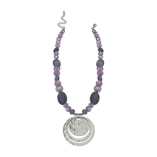 Mixit Purple Pendant